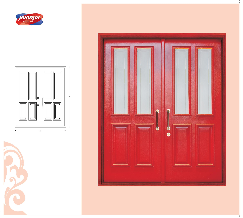 Double Door Design Ideas with Glass