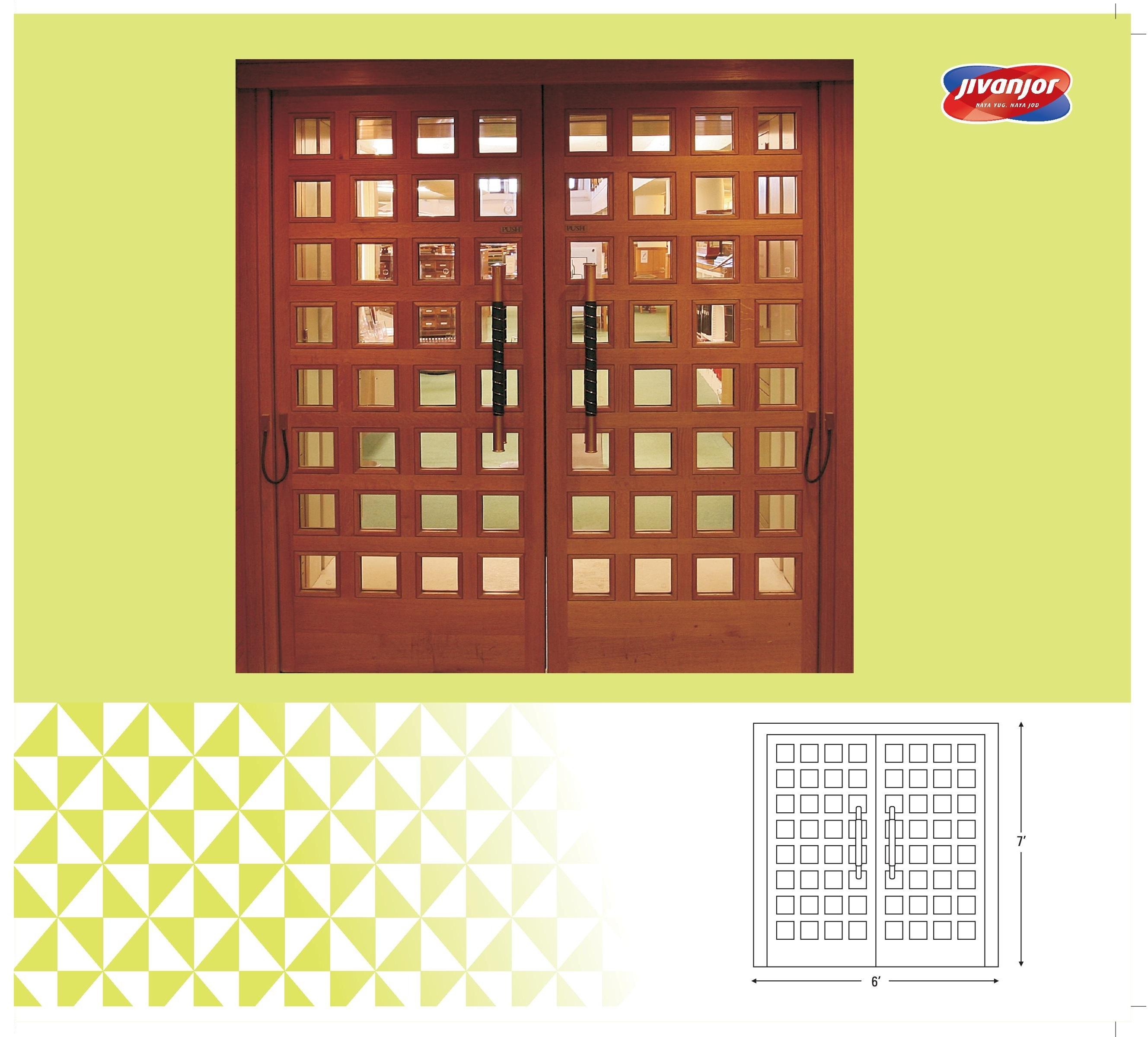 Door Design with Glass