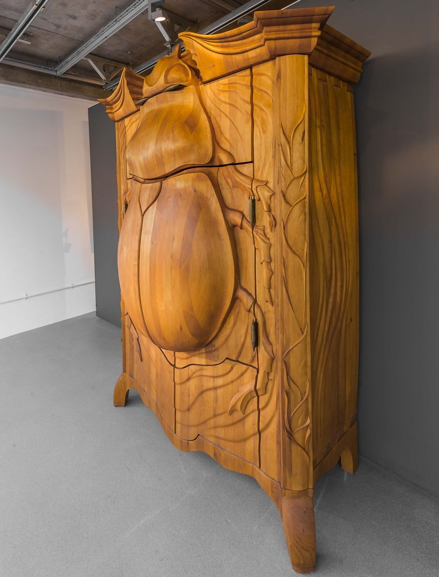 Giant Beetle or Wooden Cabinet or both