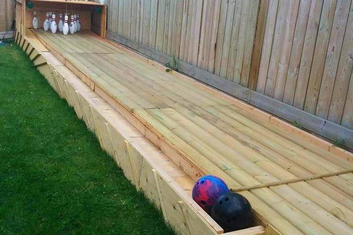 Would you like to have a Bowling Alley in your Backyard