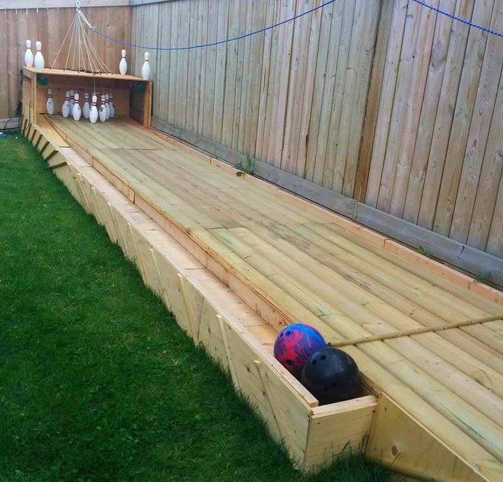 Would you like to have a Bowling Alley in your Backyard?