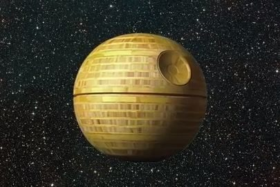 Shaping up the Death Star - An iconic Star Wars Weapon, Frank Howarth's way